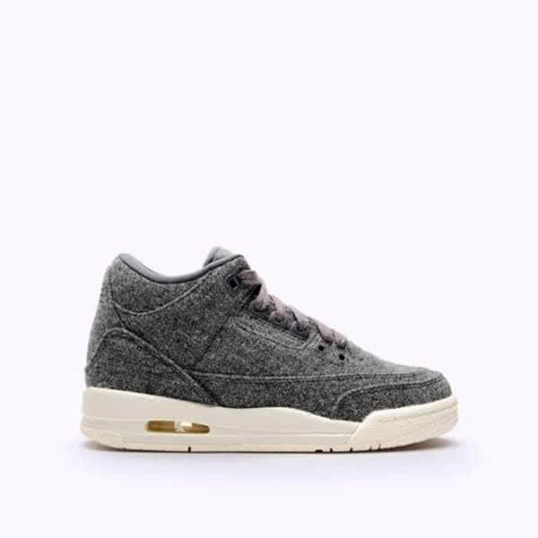 Кроссовки Jordan 3 Retro Wool BG (861427-004)